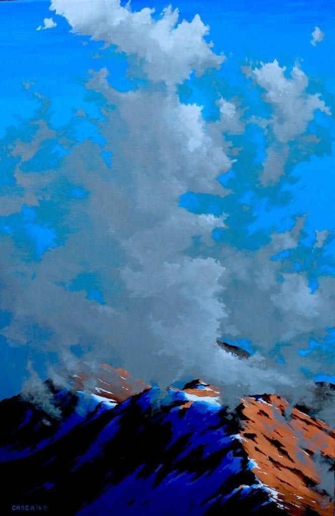 clouds rising